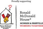 Proudly supporting Ronald McDonald House Parkville and Monash